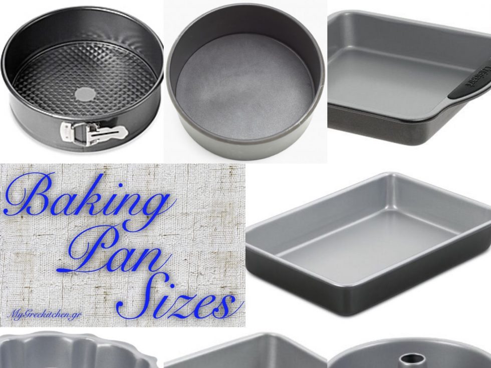 Baking Pan Sizes